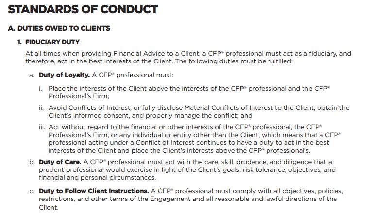 CFP board new standards fiduciary duty 10/7/19.png