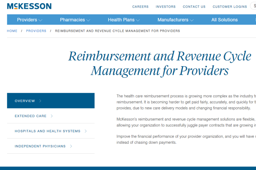 20 leading revenue cycle management vendors | Health Data Management