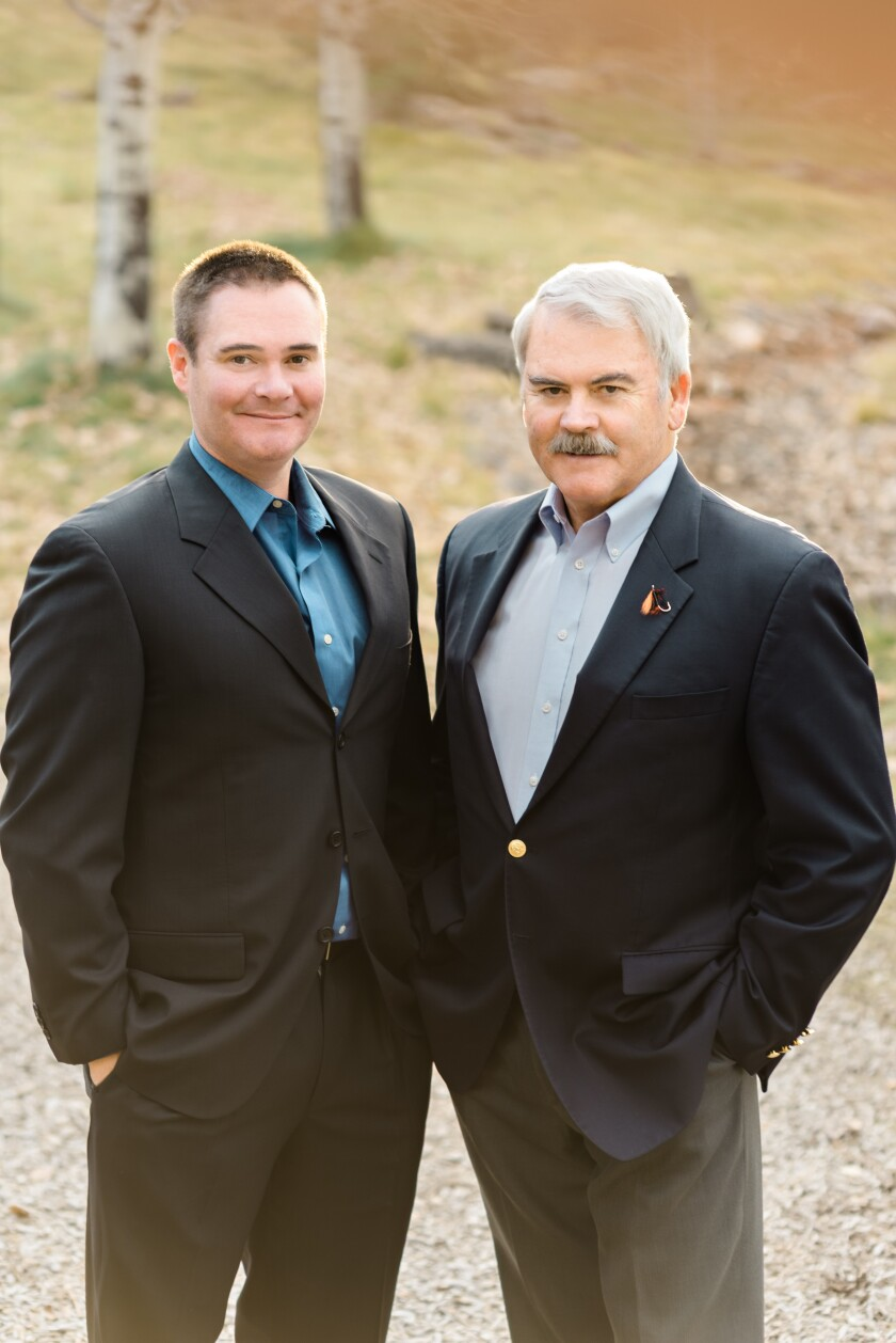 Roger Vlach and his son Jeremy are two of RBC's newest hires. They had previously worked at Wells Fargo for a decade.