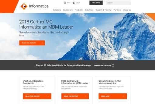 14 leading vendors for master data management software