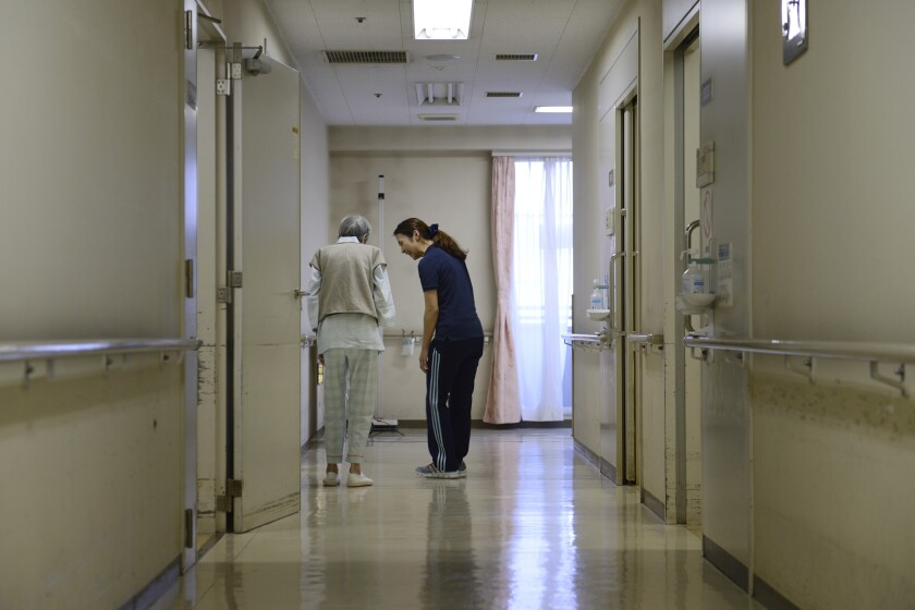 patient healthcare old retirement disability by Bloomberg News