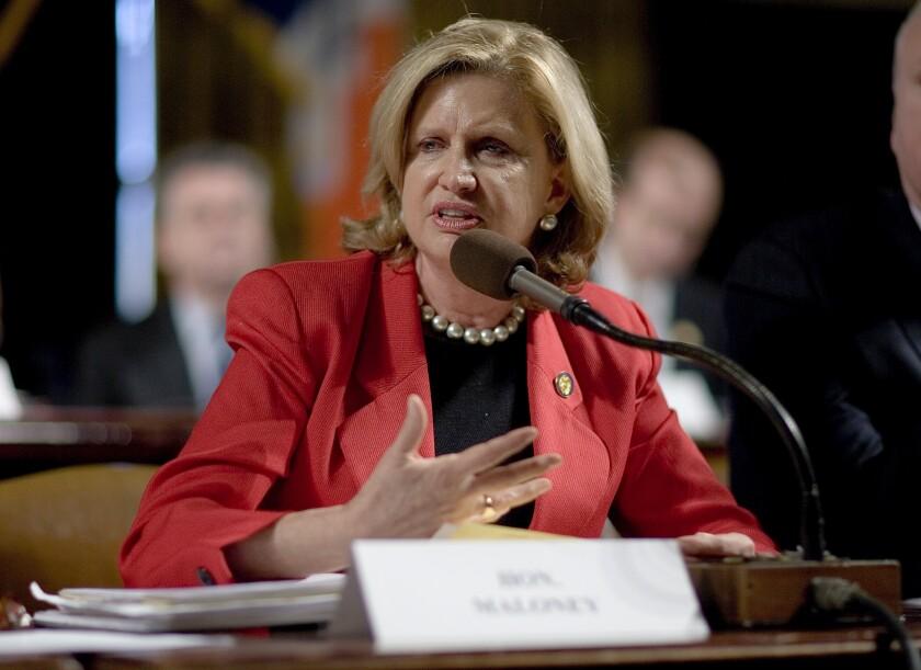 Rep. Carolyn Maloney, D-N.Y.