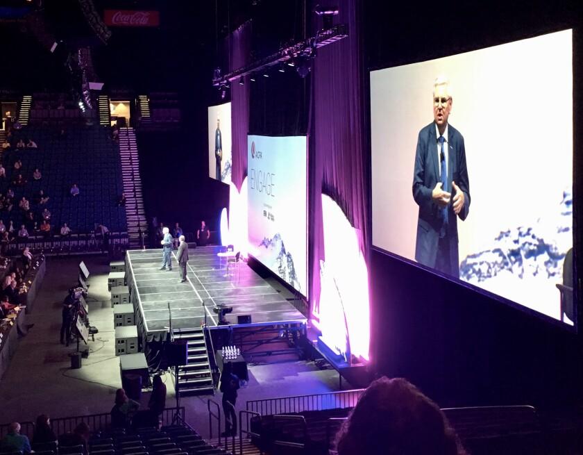 Bill Reeb and Barry Melancon keynote at AICPA Engage 2019