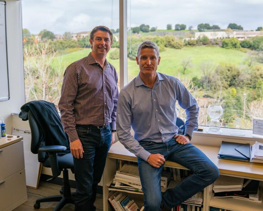 Andy Armanino and Matt Armanino of California Top 100 accounting firm Armanino LLP