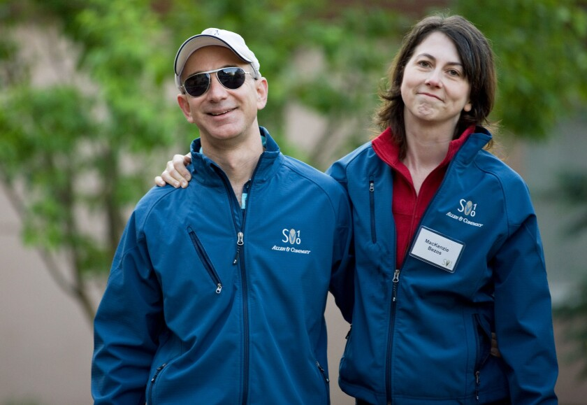 Jeff Bezos and MacKenzie Bezos to divorce-Bloomberg News