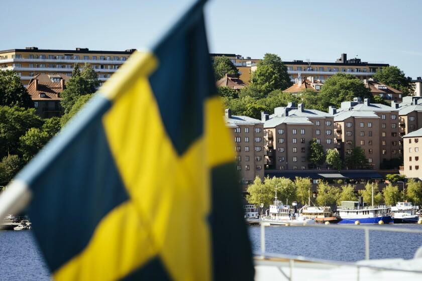 The Soeder Maelarstrand area of Soedermalm in Stockholm, Sweden
