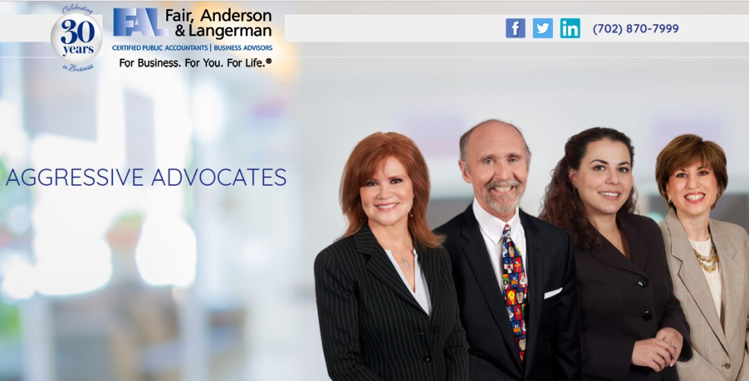 Best Firms 2018 - Fair Anderson