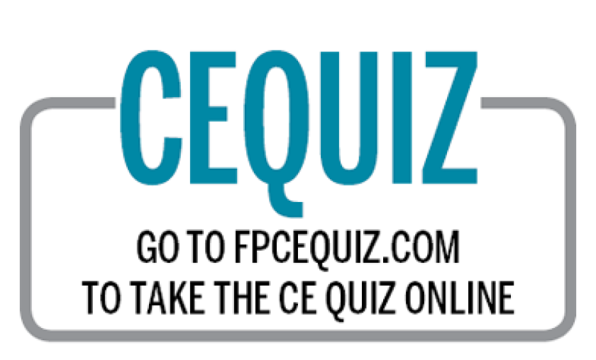 CE quiz CEQUIZ - IAG - Aug 3, 2018