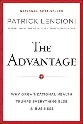 Book cover - The Advantage