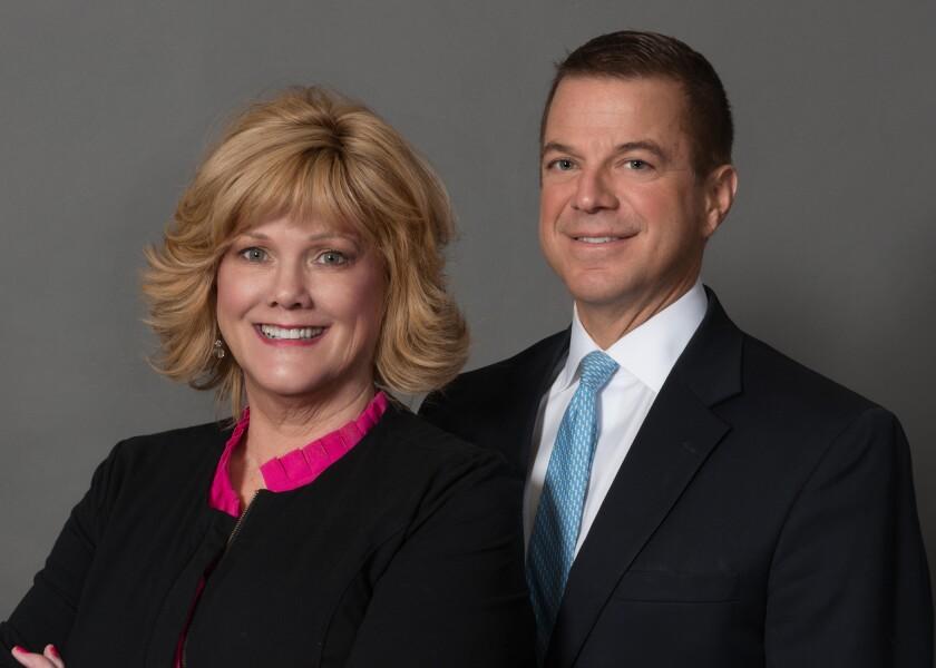 Jon Uffelman and Beth Frey Stifel Financial