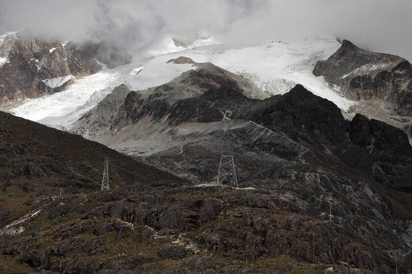 Receding glaciers threaten water supplies in Bolivia