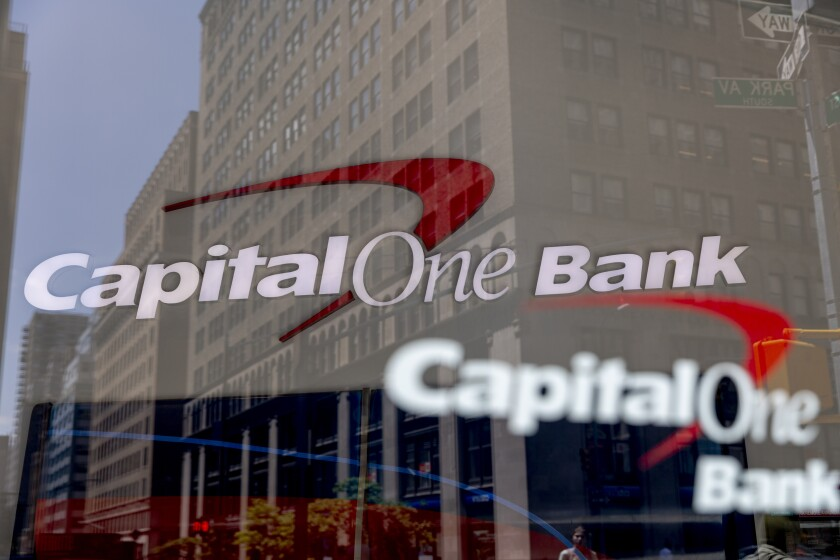 A Capital One Financial Corp. Location Ahead Of Earnings Figures