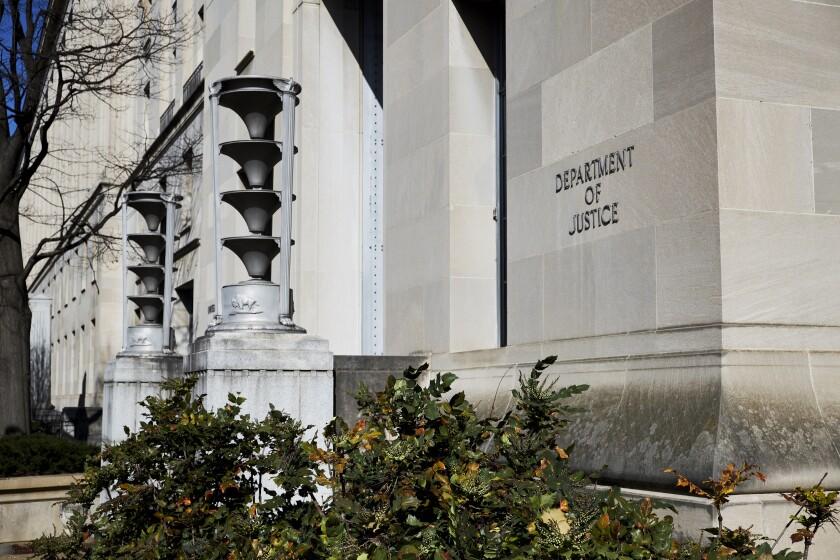 Deparment of justice DOJ IAG