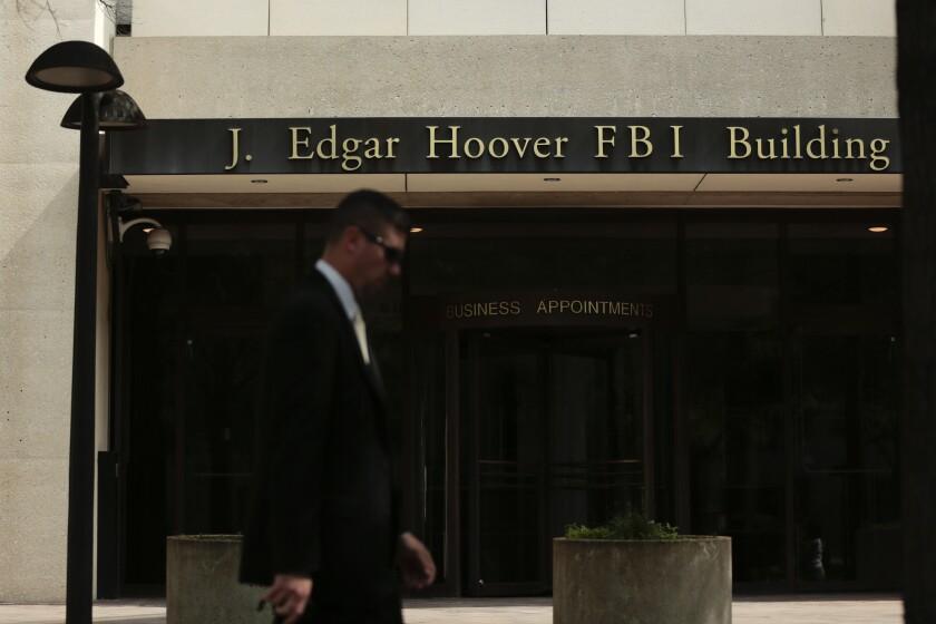 DOJ FBI IAG