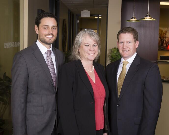 A.J. Schultz, Janis Cross, Matthew West Raymond James advisers