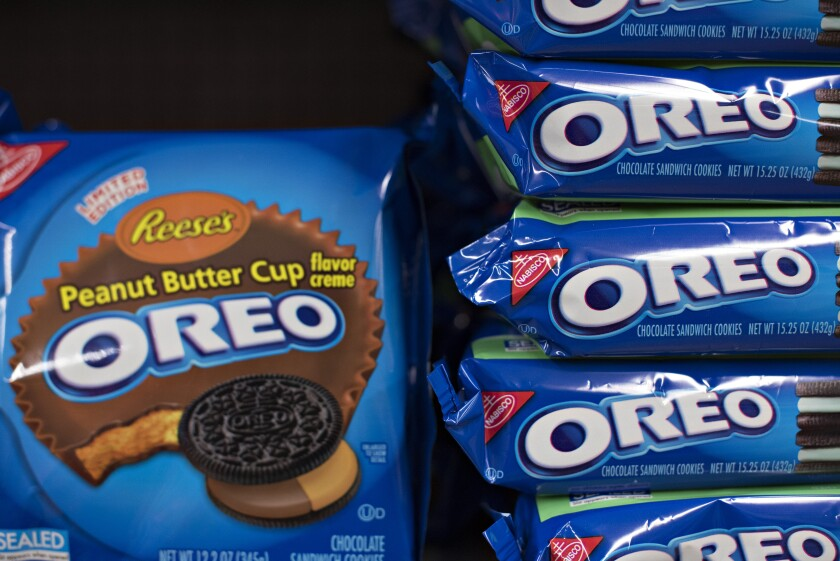 Oreo packages