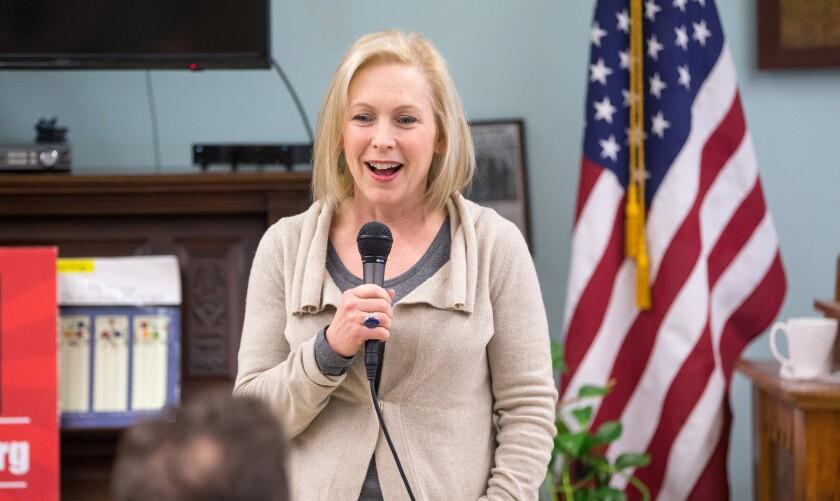 Sen. Kirsten Gillibrand, D-N.Y.