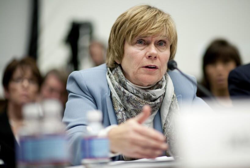 Elizabeth Duke, former governor of the Federal Reserve and current member of Wells Fargo's board.