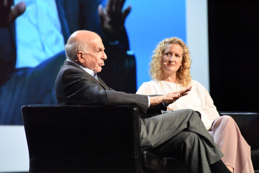 Daniel Kahneman at Morningstar Conference, June 2018
