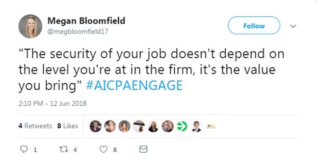 Engage 2018 - Job Security