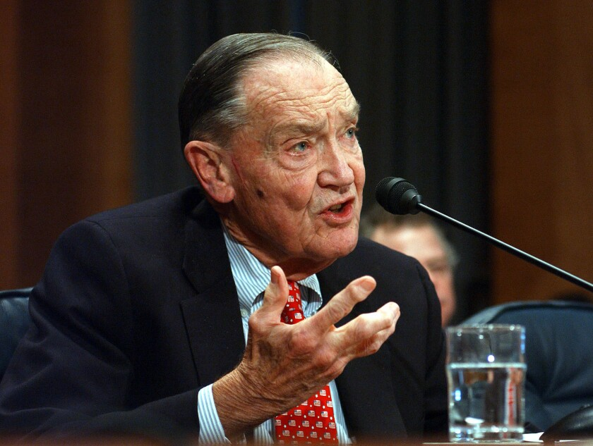 John Bogle is the founder of Vanguard.