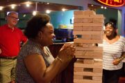 Company outing at Kings Back Bay_giant jenga game.jpg