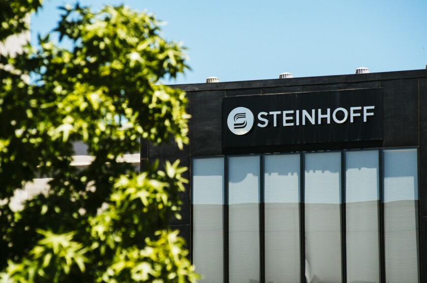 The headquarters of Steinhoff International Holdings NV in Stellenbosch, South Africa