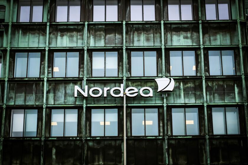 A Nordea Bank AB office in Copenhagen, Denmark