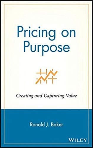 Book cover - Pricing on Purpose