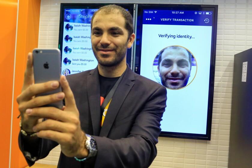 mastercard selfie pay demo