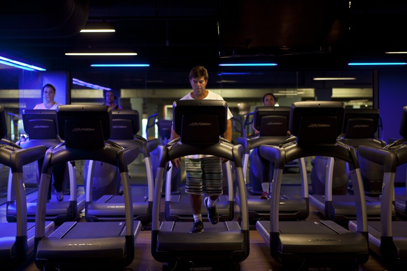 treadmills bloomberg