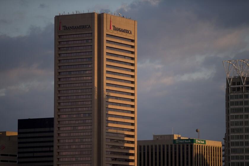 Transamerica Tower in Baltimore