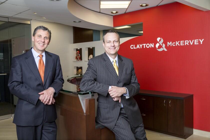 Clayton & McKervey president Robert Dutkiewicz and principal of transfer-pricing services Alex Martin