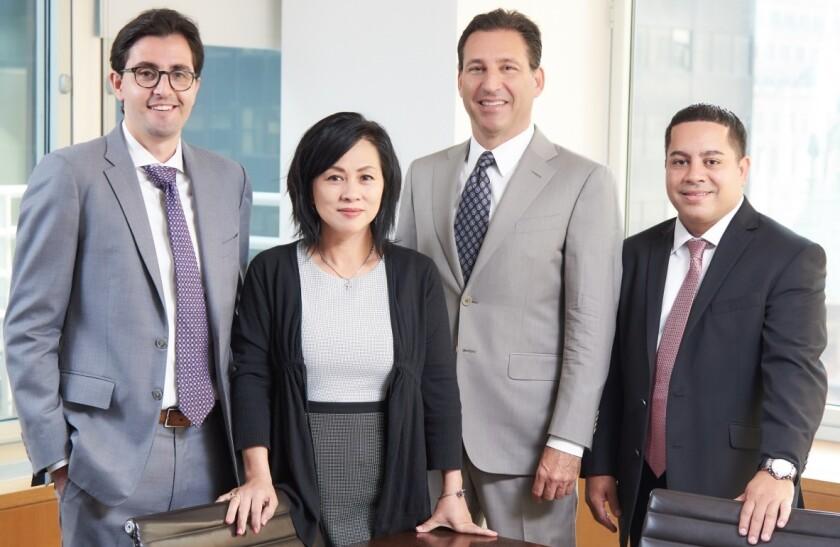 Raymond James advisers Joshua Pasahow, Ida Ng, Todd Kissel, John Rivera