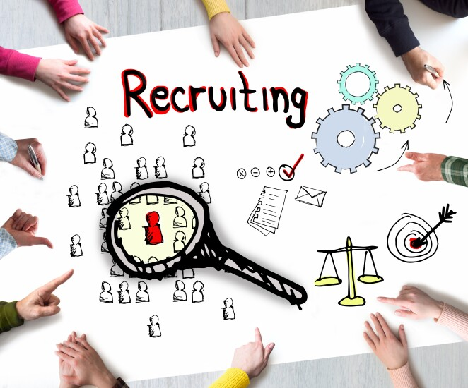 Recruiting concept