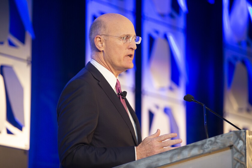 SIFMA Private Client Conference Andy Sieg, president of Merrill Lynch Wealth Management, 2019 photo