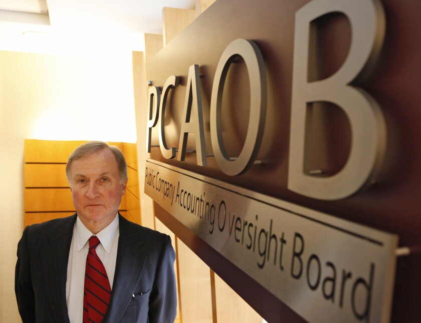 PCAOB chairman James Doty