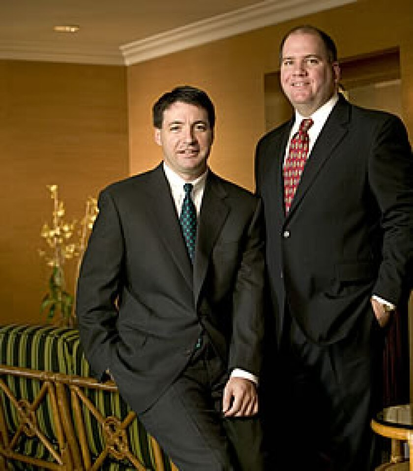 Pat Murray and Colin Heafy, Key Group Management