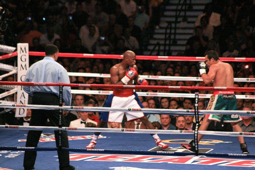 Floyd Mayweather Jr. vs. Juan Manuel Marquez