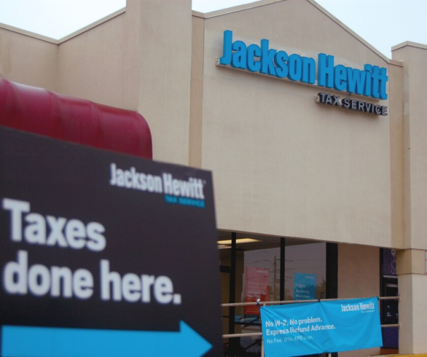 A Jackson Hewitt location