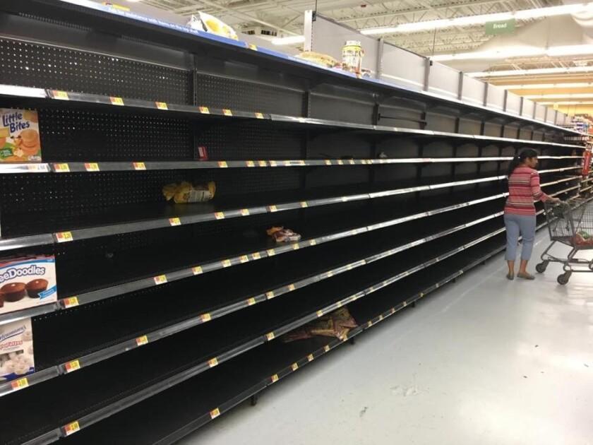 Hurricane Florence-Walmart-Cary North Carolina-NinaONeal