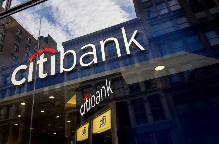 Citi brokerage subsidiary hit with $5 75M FINRA fine for lax