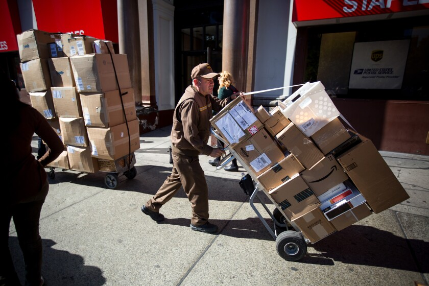Package-delivery-UPS