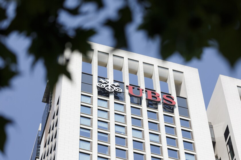 UBS offices in Frankfurt, Germany