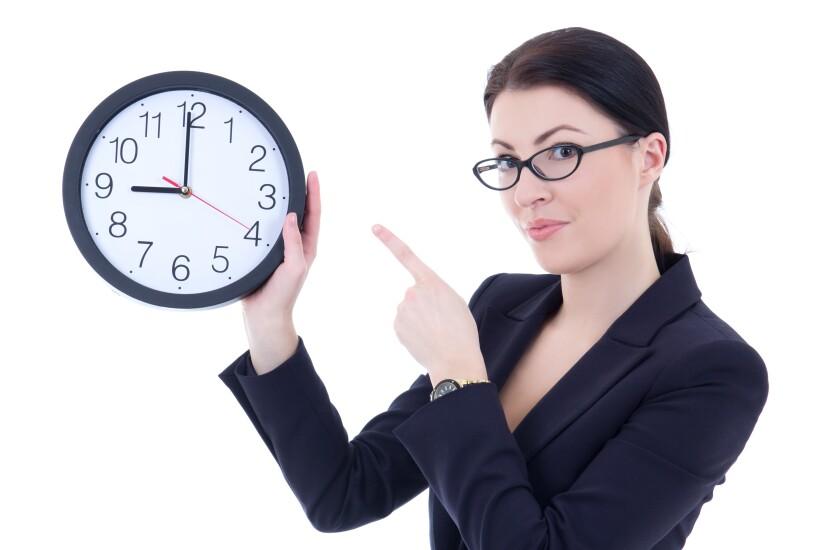 Boss-late-clock-female
