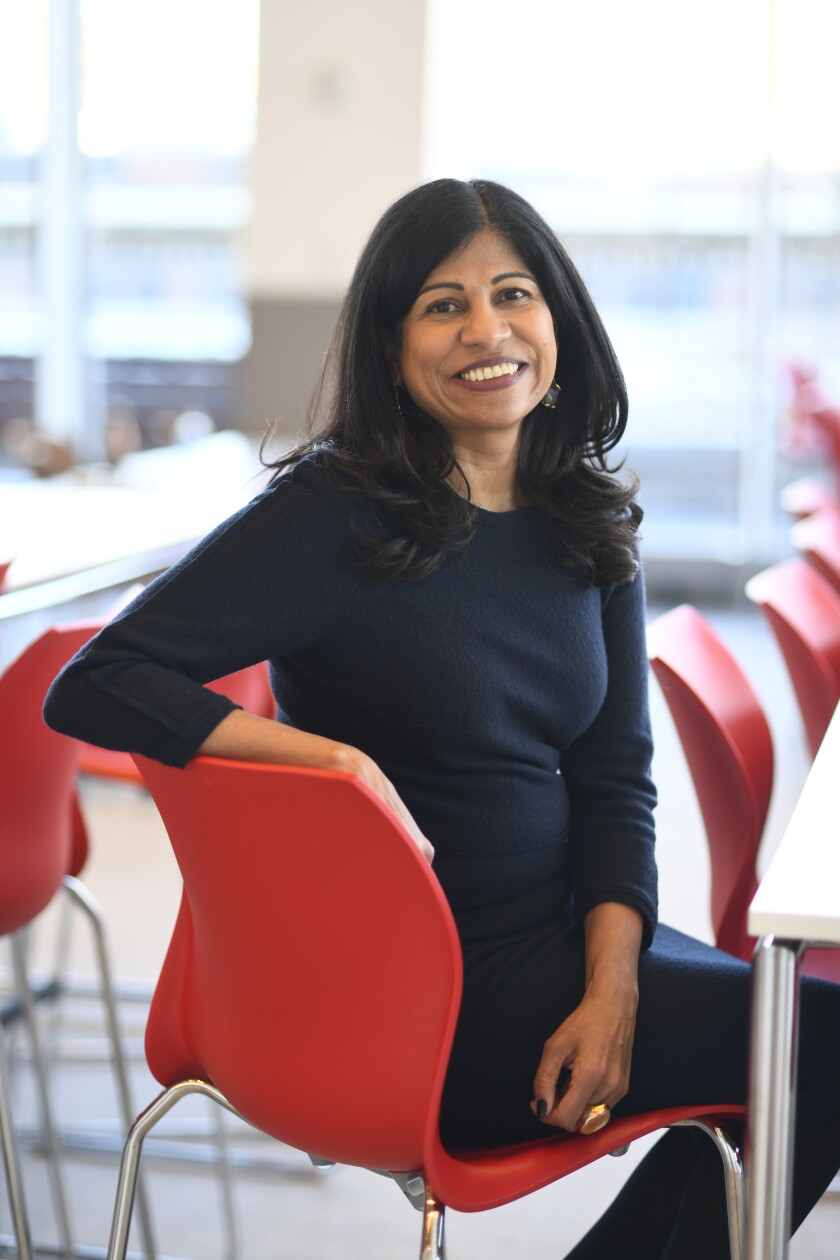 Lata Reddy serves as Prudential's head of corporate social responsibility.