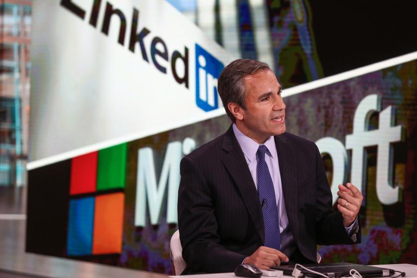 Microsoft LinkedIn deal analyst JP Morgan