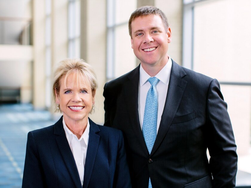 Paisely Wessel and Cory Wessel Baird financial advisors