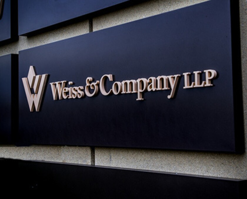 Weiss & Company LLP