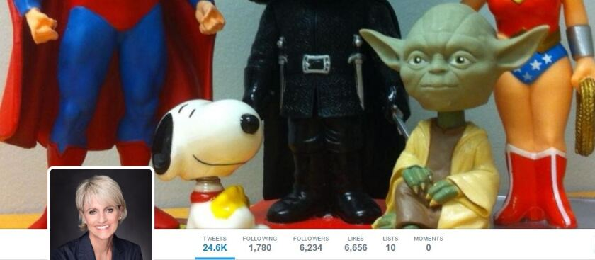 Carolyn McClanahan's Superman Yoda Snoopy Twitter profile